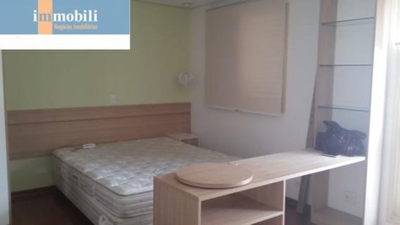 Lindo Apartamento Tipo Studio, Reformado E Mobiliado Com Vaga E Lazer Nos Jardins - Pc89407