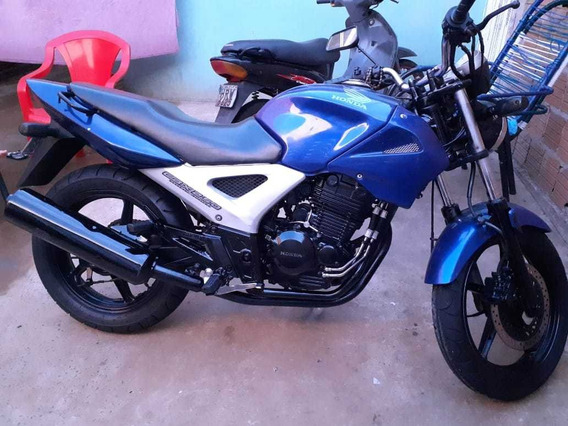 Honda Twister Azul