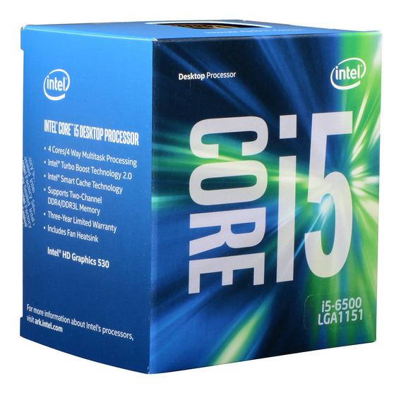 Procesador Intel Core I5-7500 3.8ghz 4c 6m Kabylake Box 1151