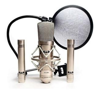 Cad Gxl2200ssp Stereo Studio Pack Con Gxl2200 Micrófono De C