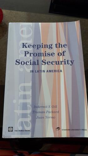 Imagen 1 de 4 de Libro Keeping The Promise Of Social Security In Latin Americ