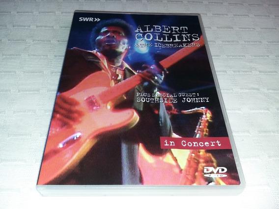 Dvd Albert Collins & The Icebreakers - In Concert.
