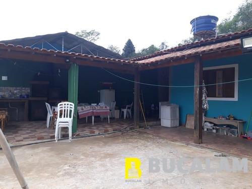 Imagem 1 de 11 de Chácara A Venda Em Potuvera - Itapecerica Da Serra - 4196-pg