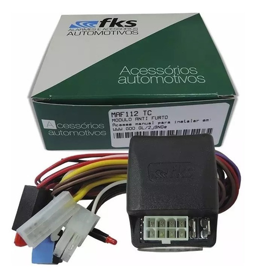 Bloqueador Automotivo Maf 112 Tc Antifurto Fks