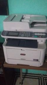 Impressora Multifuncional Monocromática Oki Mb491+
