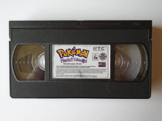 Pokémon Pikachu! Yo Te Elijo Vhs Tycoon Video Nintendo