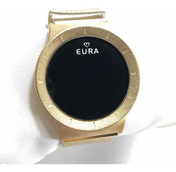 10 Relógios Eura Digital Touch + Atacado +revenda