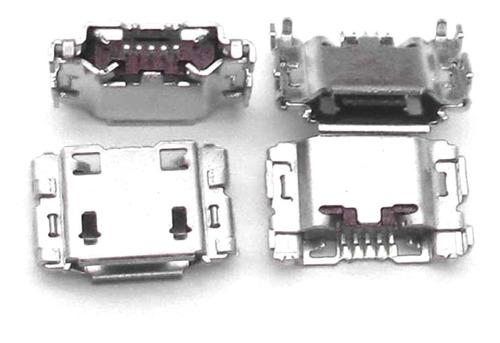 Conector Micro Usb Multilaser M7s Quad Core 3º Ger Kit 10 Un