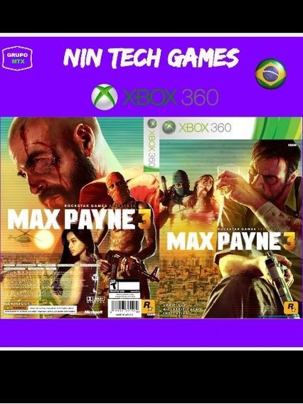 Max Payne 3 Xbox 360 Jogo P/download Da Live Xbox