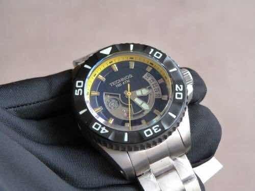 Relógio Automático Perfomance Technos Acqua 1000m 8215ah/5y