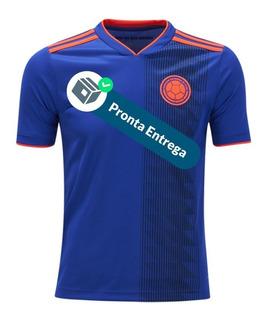 Camisa Colômbia 18/20 2º Unif. - Pronta Entrega
