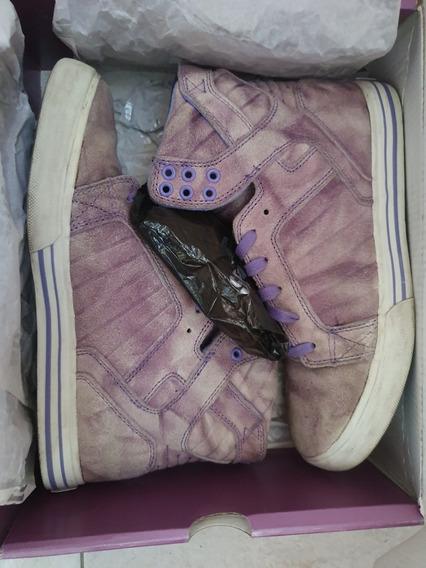 Zapatillas Supra Violetas