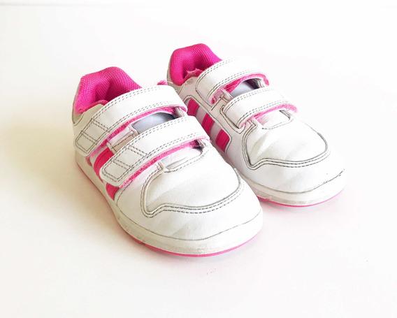 Tênis adidas Infantil Menina Couro Tam 25 Usado