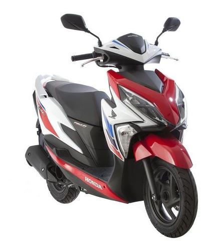 Honda New Elite 125 En Color Rojo