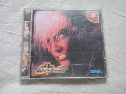 The King Of Fighter 99 Sega Cd Jogo Sega Dreamcast Cd