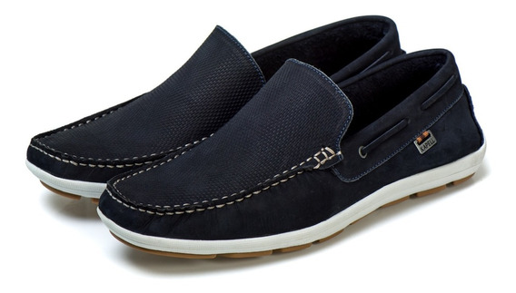 Sapato Sapatilha Tipo Masculino Trabalho Couro Bovino