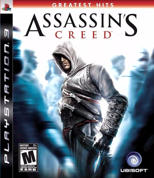 Jogo Assassins Creed 1 Ps3 Ac1 Playstation 3 Mídia Física