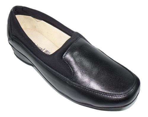 Imagen 1 de 1 de Zapato Cómodo Dama Pie Diabético O Delicado, Borrego Pn2014n