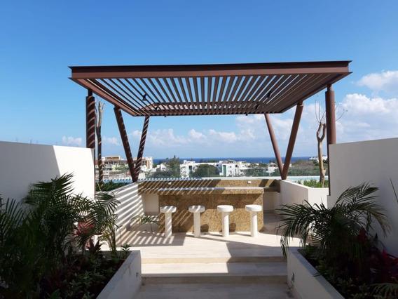 Playa Del Carmen Condos, Departamento Nuevo Muy Iluminado En Playa Del Carmen
