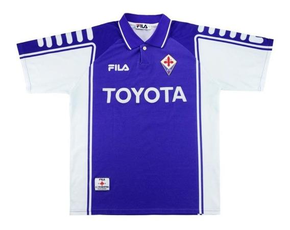 Fiorentina 99/00 Retro - Numeração Jogador Ou Sem Numeração