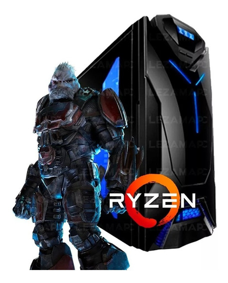 Pc Gamer Ryzen 5 2400g Gtx 1050 Ti 8gb Ddr4 Ssd 240 80plus
