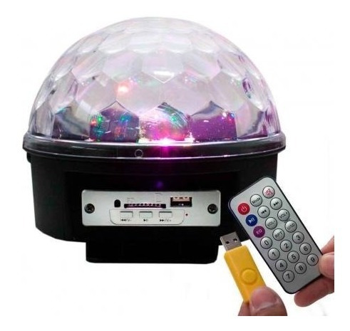 Bola Maluca Led Mp3, Usb