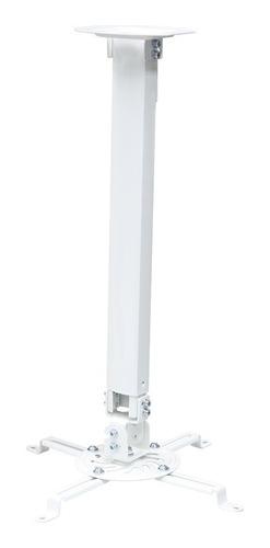 Suporte Para Projetor C/ Ajuste De Altura Pro1100 Branco ELG