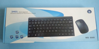 Teclado + Mouse Bluetooth Weibo 10 Mts Alcance