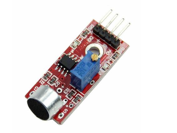 2 X Módulo Detector Sensor De Som Palmas Arduino Ky-037