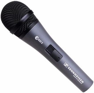 Sennheiser E825s Microfono Dinamico C/ Switch On Off