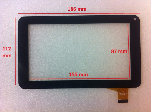 Touch Screen Tablet 7 Pulgadas Rca Rct6077w2 Flex: Clv2659-b