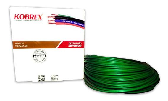 Cable Verde Kobrex 19h Cal. 12 Awg Rollo 100 Mto