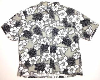 Camisa Hawaiana Tropical Floreada Surf Talle 2xl Xxl1319