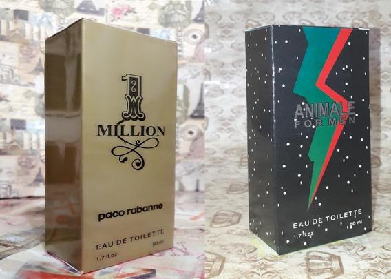 Kit Promoção Perfumes Masculinos,1 Million /animale