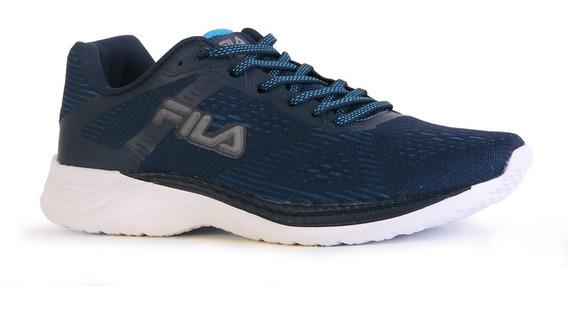 Zapatillas Fila Champion Training Hombre Azul Running