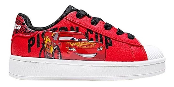 Zapatillas Addnice Flow Cars Cordon Rojo Con Luz (3430)