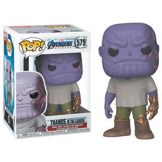 Figura Funko Pop Avengers Endgame Thanos En Jardin