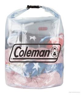 Saco Estanque Impermeável Médio Coleman Transparente