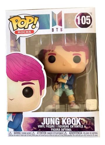Funko Pop Jung Kook - Bts- K-pop- Con Holograma