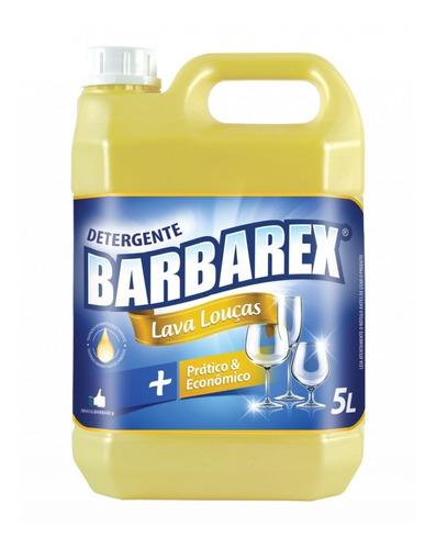 Detergente Lava Louças Neutro Barbarex 5l
