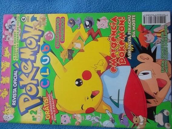 Pokemon Club Revistas Oficiales (10 Unidades) En Portugues