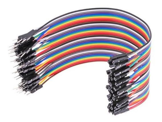 800 Fios/jumpers Macho E Femea P Projetos Eletrônico Arduino
