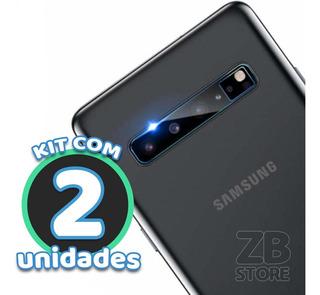 Kit 2 Película Vidro Protege Lente Câmera Galaxy S10 5g G977