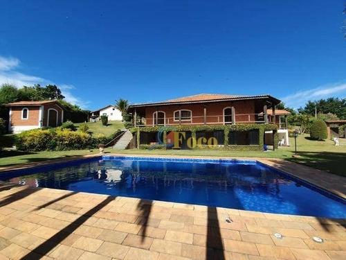 Sítio Com 5 Dormitórios À Venda, 24000 M² Por R$ 6.000.000,00 - Jardim Santa Filomena - Itatiba/sp - Si0021