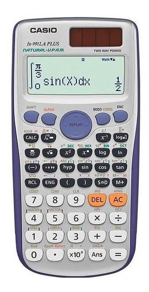 Calculadora Científica Casio Fx-991la Plus Com 417 Funções