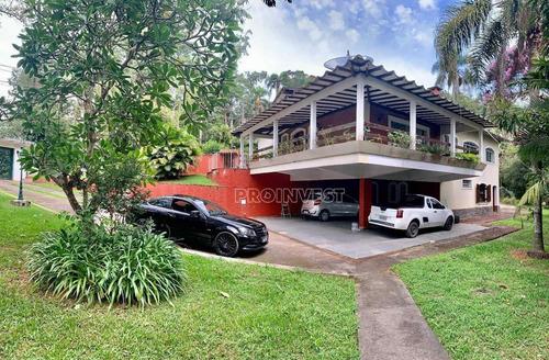 Imagem 1 de 30 de Chácara Com 5 Dormitórios À Venda, 3200 M² Por R$ 1.150.000,00 - Embu Das Artes - Embu Das Artes/sp - Ch0260