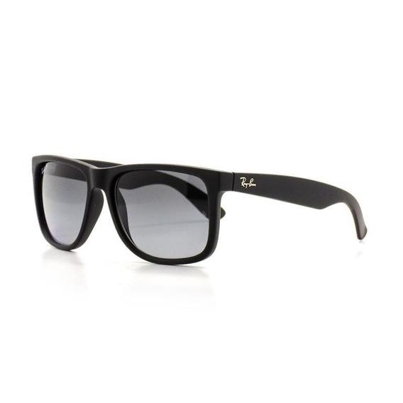 Oculos De Sol Masculino Ray Ban Justin Quadrado Dia A Dia
