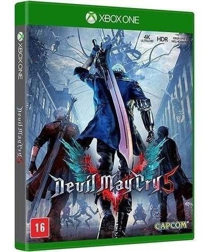 Devil May Cry 5 Xboxone Mídia Física Lacrado
