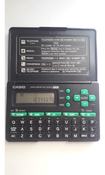 Agenda Eletronica Casio Dc-2000