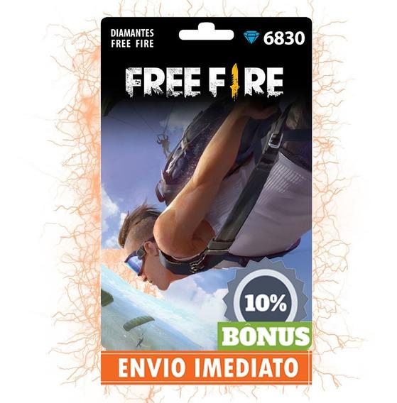 Free Fire 7513 Diamantes - Recarga Por Id - Envio Imediato!